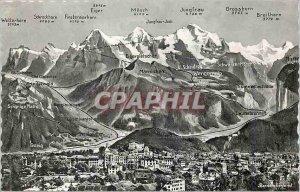 Postcard Modern Berner oberland