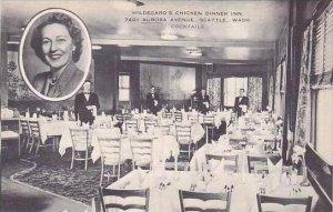 Washington Seattle Hildegards Chicken Dinner Inn Artvue