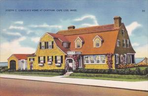 Massachusetts Cape Cod Joseph C Lincoln's Home At Chatham