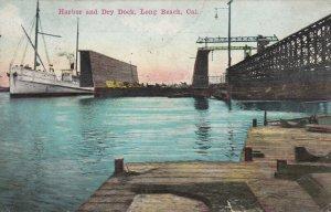 LONG BEACH, California, PU-1914; Harbor and Dry Dock
