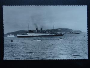Shipping T.S.S. KING GEORGE V c1954 RP Postcard by Valentine