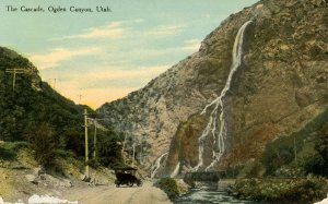 UT - Ogden Canyon. The Cascade         (card has wear)