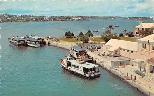 Bermuda Postcard Old Vintage Island Post Card Albuoys Point Ferry Terminal 1069