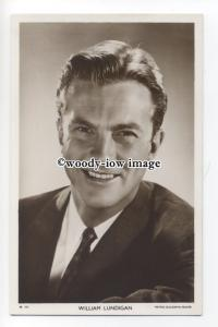 b3909 - Film Actor - William Lundigan, Picturegoer postcard No.W737