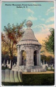 Blocher Monument, Forest Cemetery, Buffalo NY