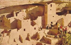 Cliff Palace Ruin, Mesa Verde National Park, Colorado, 40-60´s