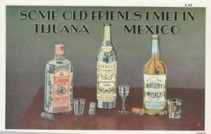 TIJUANA , BC , Mexico , 1920-30s ; Old Friends