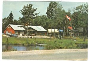 The Smokey Kettle, Canada's maple store, Hwy 11, Sundridge, Ontario, Postcard