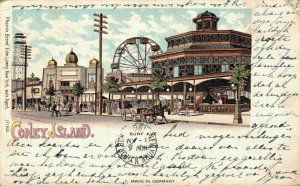 USA Coney Island Surf Ave. Litho 05.06