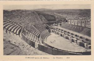 Algeria Timgad pres de Batna Le Theatre