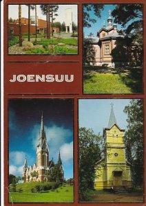 POSTAL B01864: Joensuu – Ksniiden kirkkojen Kaupunki.