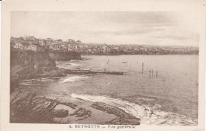 BEYROUTH . Lebanon , 1910s ; Vue Generale