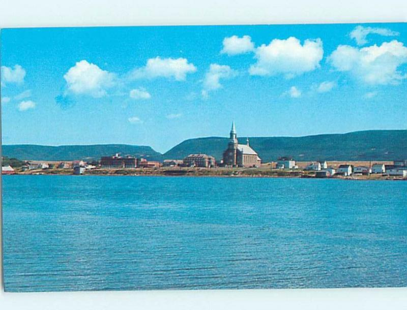 Unused Pre-1980 PANORAMIC VIEW Cheticamp On Cape Breton Nova Scotia NS F8484
