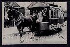 Horse Drawn Train,North Chiago Street Railroad