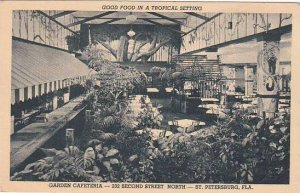 Florida Saint Petersburg Good food In A Tropical Setting 1948