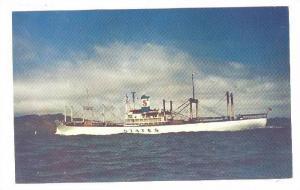 States Steamship Company's white cargoliner, Ocean Liner, 40-60s