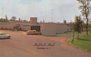 Massena New York Highland Hotel Vintage Postcard JI657971