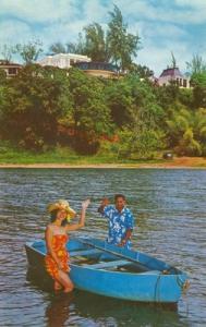 Hanalei Plantation, Hanalei Bay, Kauai Hawaii, Postcard