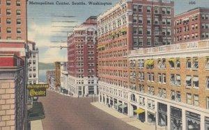 SEATTLE , Washington , 1952 ; Metropolitan Center
