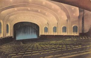 Bloomington~Indiana University Auditorium~Stage~Choral Concert~Handcolor 1920s