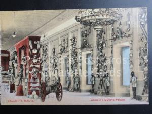 c1918  Malta: VALLETTA MALTA, Armoury Duke's Palace