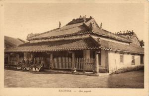 CPA Vietnam Indochine - Rachgia - Une Pagode (85080)