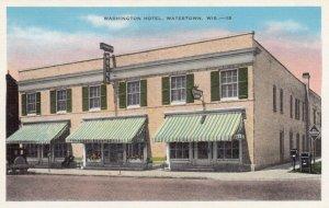 WATERTOWN, Wisconsin, 1910-30s; Washington Hotel
