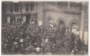 Political; Horsham 1906 Election Results Announcement At Town Hall PPC Unposted