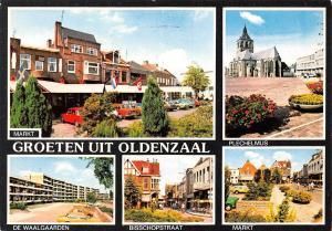 Netherlands Markt Groeten uit Oldenzaal Plechelmus, Waalgaarden, Markt