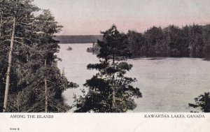 KAWARTHA LAKES DISTRICT, Ontario, Canada, 1900-1910s; Among The Islands