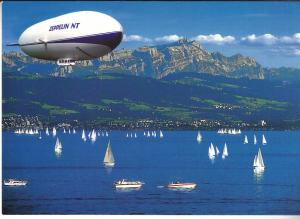 Zeppelin NT Over Bodensee