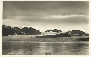 norway norge, SPITSBERGEN SVALBARD, Kings Bay (1930s) RPPC Postcard