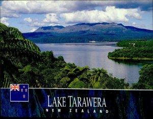 JD0004 new zeeland rotorua lake tarawera north island fauna stamp