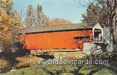 Covered Bridge Pennsylvania, USA Unused