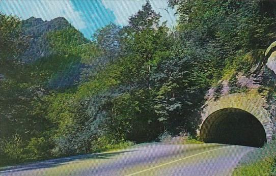 Tennessee Smoky Mountains The Lower Tunnel On the Transmountain