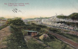PANAMA, Canal Zone, 1900-1910s; Bas O Bispo Cut Looking North