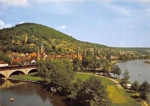 Gemuenden am Main Bruecke River Bridge Pont Panorama