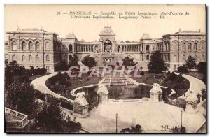 Old Postcard Set Marseille Palais Longchamp masterpiece of Architect Esperandieu