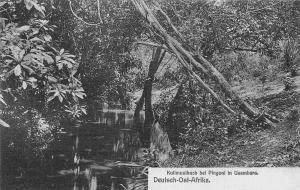 German East Africa Tanzania, Deutsch-Ost-Afrika, Kulimusibach, Pingoni, Usambara
