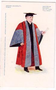 Oxford University Robes, Doctor of Science of Letters
