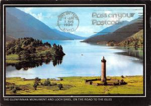 uk35521 loch shiel and glenfinnan monument on the road to the isles scotland uk