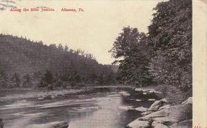 ALTOONA, Pennsylvania, PU-1908; Along the Blue Juniata