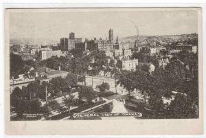 Panorama Omaha Nebraska 1905 postcard