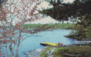 Orillia Fish & Chips James St Street Forest Canadian Kodak Photo Canada Postcard