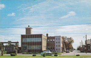 Acton vale , Quebec , Canada , 50-60s The City Hall