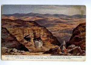 171878 Palestine Desert Judea Wadi el Kelt Monastery Perlberg