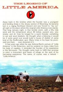 Wyoming Cheyenne The Legend Of Little America