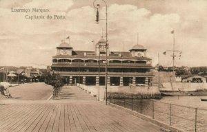 PC CPA MOZAMBIQUE LOURENCO MARQUES CAPITANIA DO PORTO Vintage Postcard (b24882)