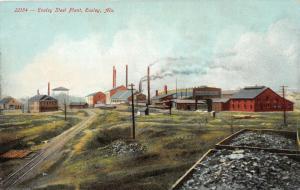 F15/ Ensley Alabama Postcard c1910 Ensley Steel Plant Factory