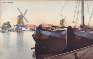 ZAANDAM (North Holland), Netherlands, 1910-1920s; Windmills